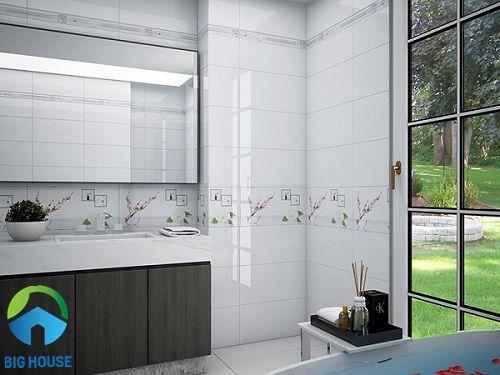 gạch ốp tường 30x60 màu trắng 13