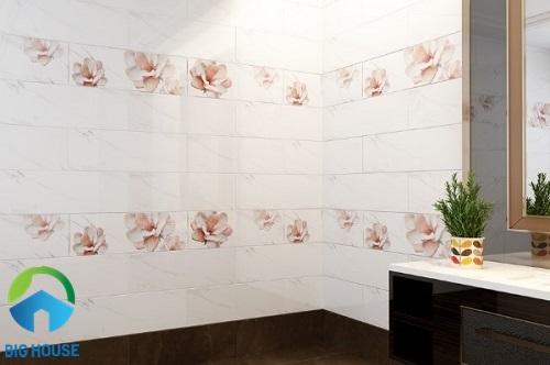 gạch ốp tường 30x60 màu trắng 14