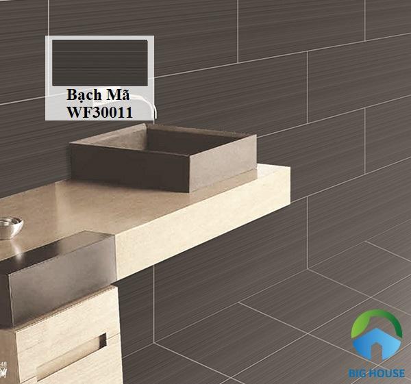 Ngắm nhìn vẻ đẹp mới lạ từ gạch Bạch Mã WF30011 ốp tường nhà tắm