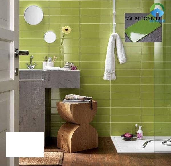 gạch ốp tường màu xanh ngọc
