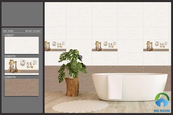 gạch ốp nhà vệ sinh 30x60 ý mỹ