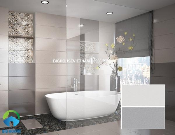 Mẫu gạch ốp tường nhà tắm của thương hiệu Đồng Tâm rất được yêu thích