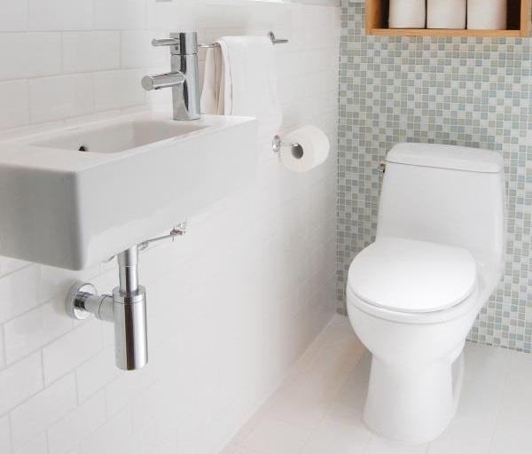 Mẫu gạch mosaic cho nhà tắm nhỏ