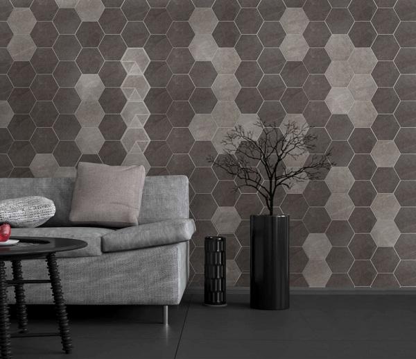 Mẫu gạch ốp tường theo phong cách độc đáo