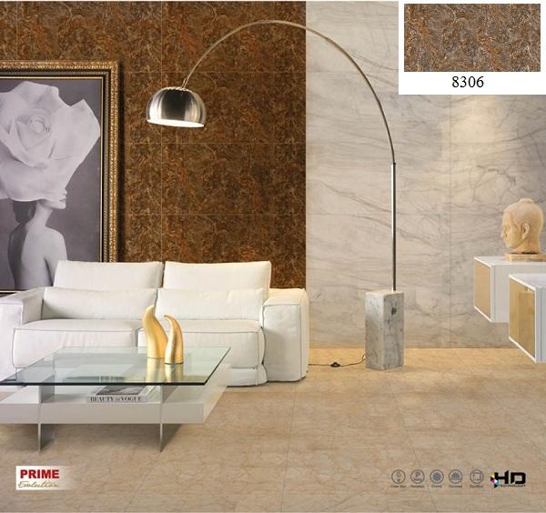 Mẫu gạch ốp tường phòng khách kích thước lớn