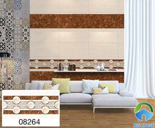 Gạch ốp tường phòng khách nhà ống Prime 08264