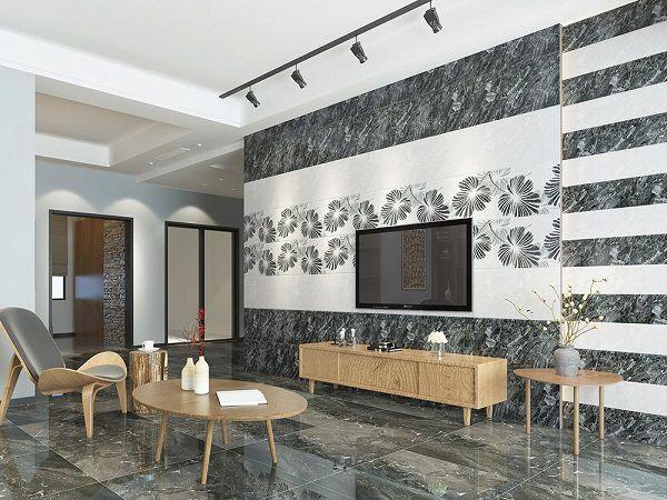 99 mẫu gạch ốp tường phòng khách ĐẸP – ĐỘC – SANG nhất 2020