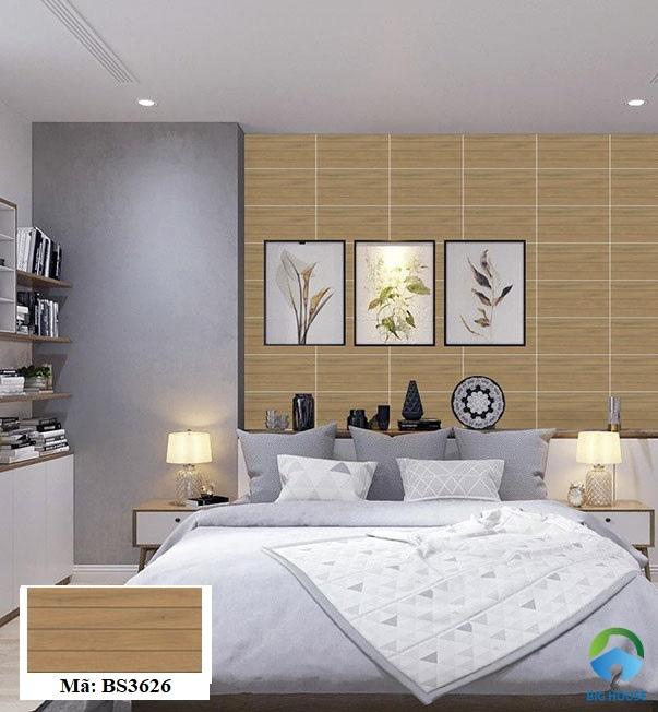 gạch ốp tường phòng ngủ đẹp nhất