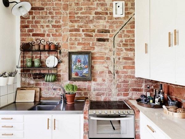 gạch ốp tường trang trí bếp