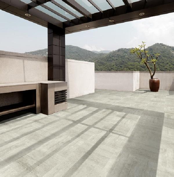 Gạch sân thượng có ưu điểm nổi bật chống trơn và chịu nhiệt rất tốt