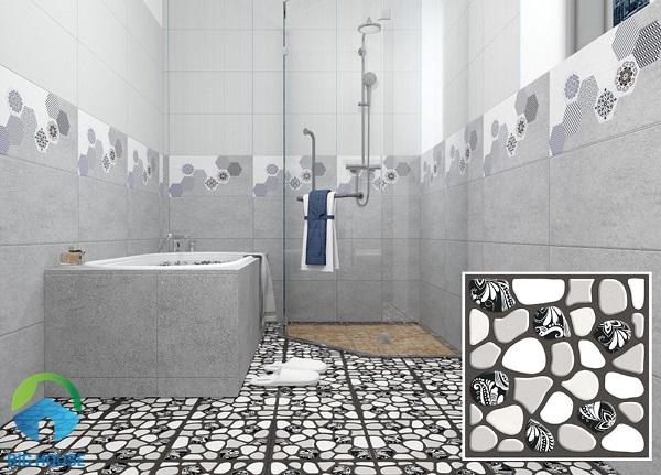 gạch sỏi lát nhà tắm