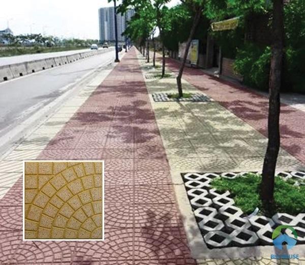 Hay bạn có thể tham khảo mẫu gạch terrazzo đặc biệt này. Mẫu gạch này cũng được người tiêu dùng rất ưa chuộng