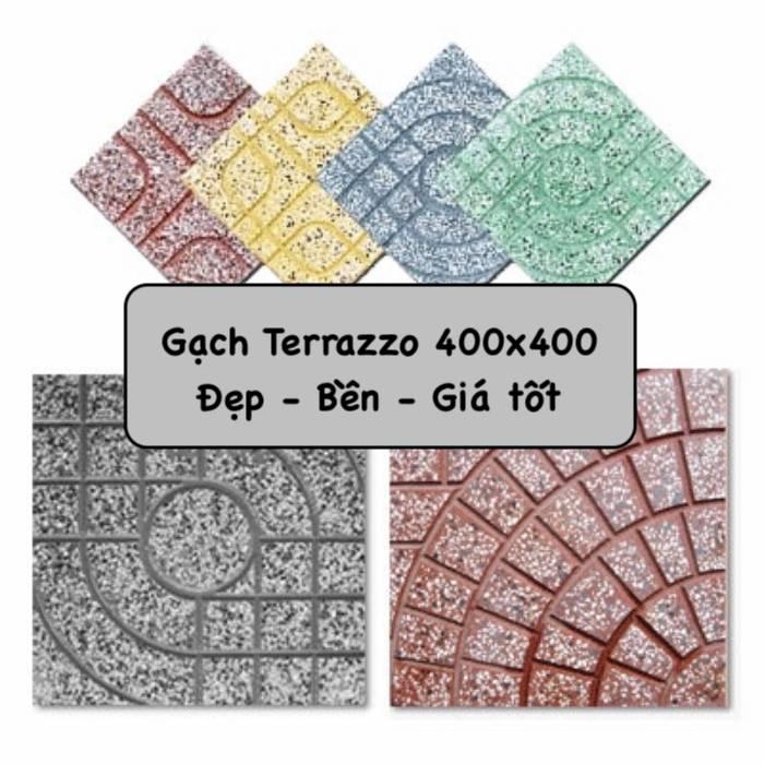 Bảng giá gạch Terrazzo 400×400 kèm top mẫu Bền Đẹp 2021