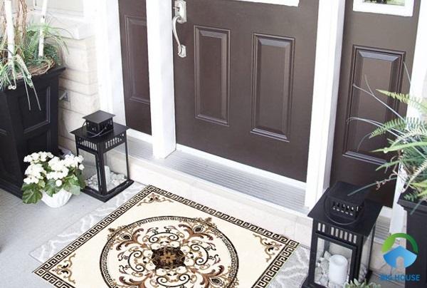 Gạch thảm hiên nhà: Top mẫu đẹp, sang kèm báo giá chi tiết