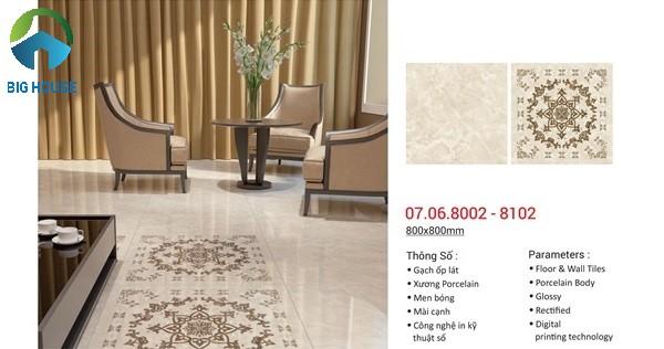 gạch thảm đẹp cho phòng khách