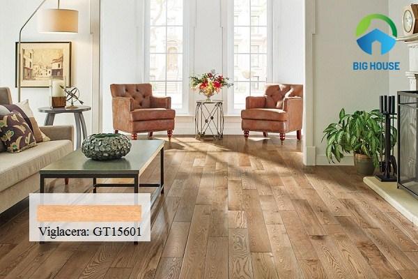 Mẫu gạch lát sàn vân gỗ Viglacera GT15601