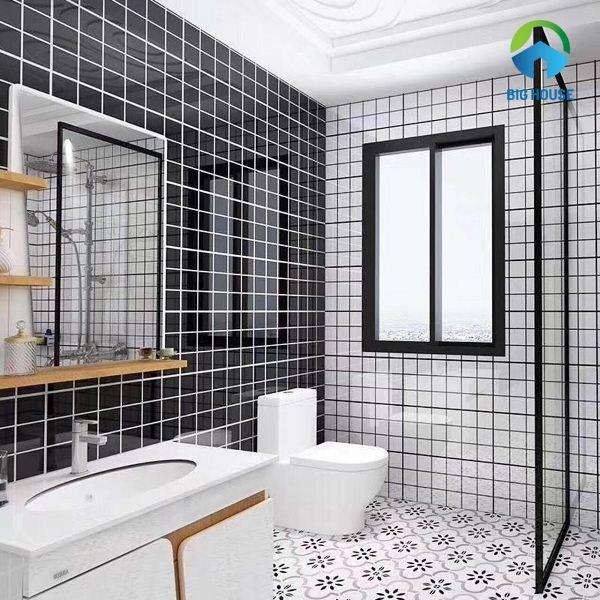 Cách phối màu gạch nhà vệ sinh CHUẨN – CỰC ĐƠN GIẢN