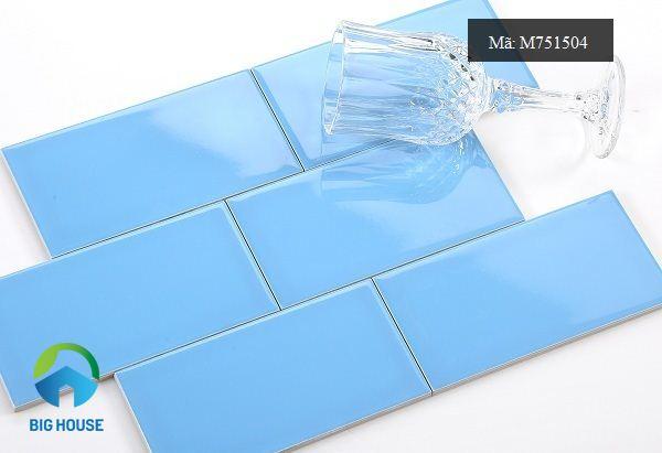 gạch thẻ màu xanh m751504