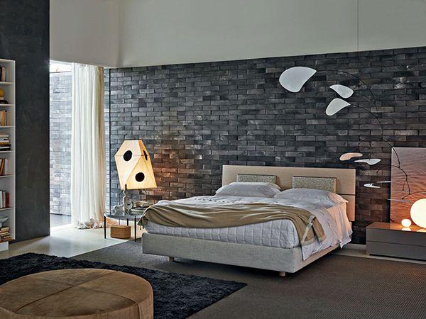 gạch thẻ ốp tường phòng ngủ