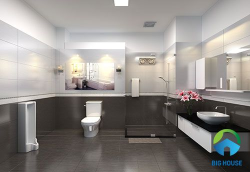 gạch toilet 30x60 độc đáo nhất