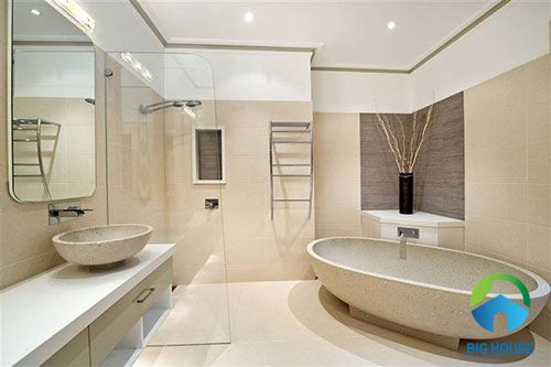 gạch toilet cao cấp cho không gian nhẹ nhàng