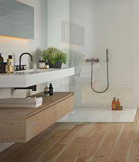 gạch toilet giả gỗ mang đến sự sang trọng