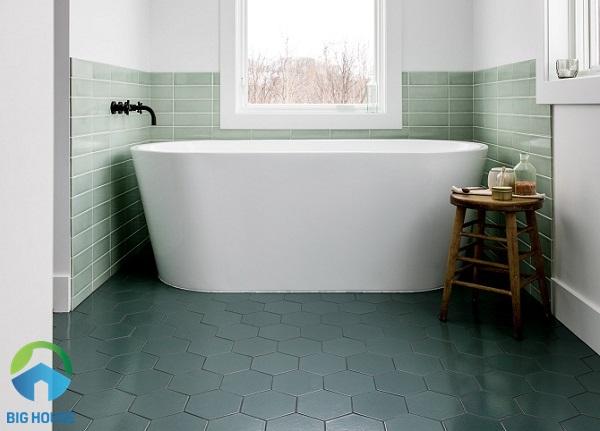 gạch trang trí lát nền nhà tắm