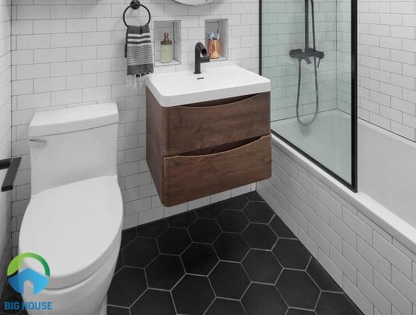 gạch trang trí lát nhà tắm