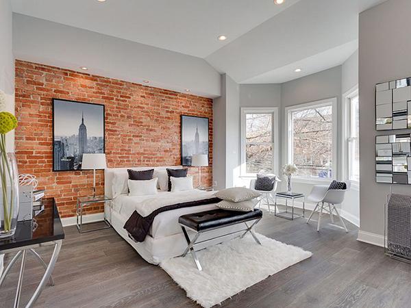 gạch trang trí phòng ngủ