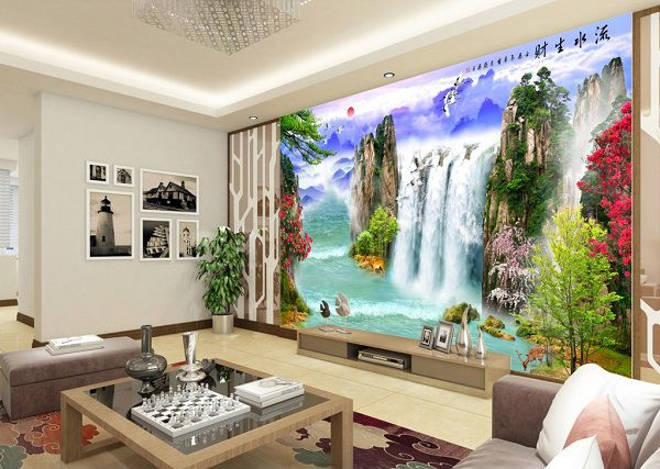 25+ Mẫu tranh gạch 3D phong thủy, phong cảnh đẹp nhất 2020