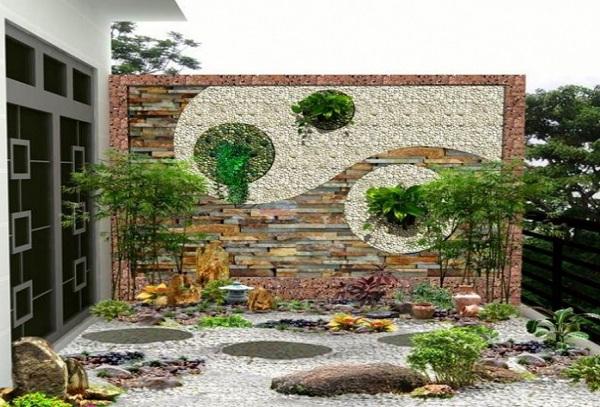 Gạch tranh ốp tường mang lại không gian độc đáo