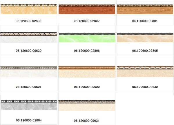 Gạch viền chân tường 12x60