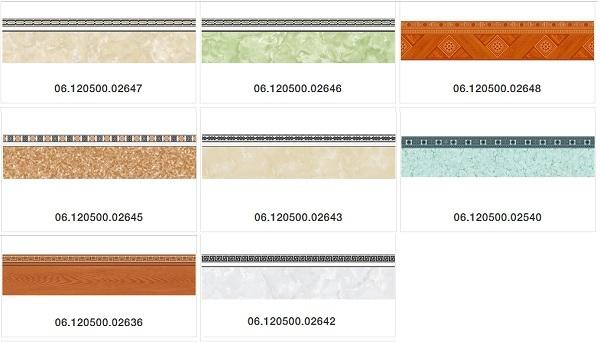 Gạch viền chân tường 12x50