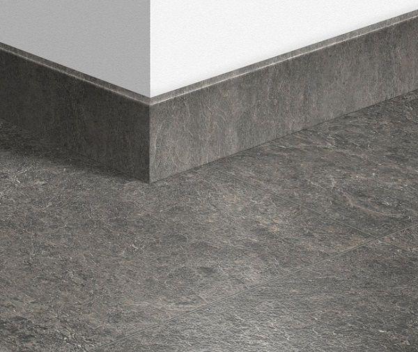 gạch viền chân tường kích thước 12x80 vân đá màu ghi đen