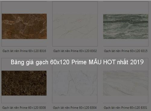 Update bảng giá gạch 60×120 Prime MẪU HOT nhất 2020 Big House
