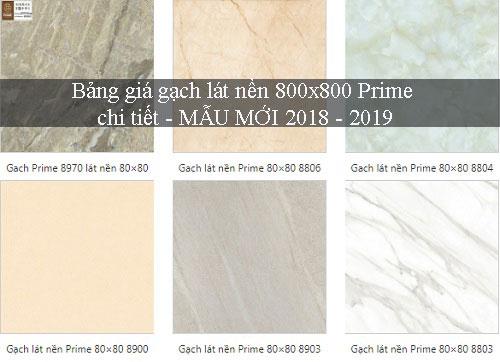 Bảng giá gạch lát nền 800×800 Đa dạng mẫu mã – Chiết khấu Cực cao