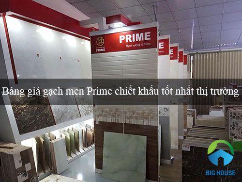 Cập nhật bảng báo giá gạch men Prime Chiết khấu tốt nhất Thị trường