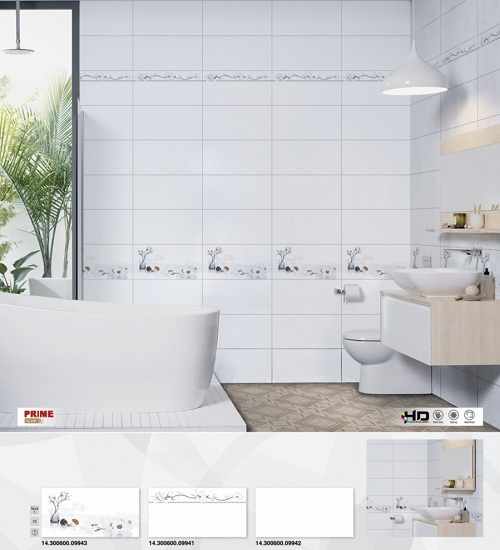 Mẫu gạch ốp tường nhà tắm chống trơn