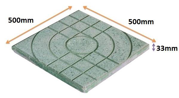 Gạch terrazzo 500×500: Kích thước, định mức, báo giá 2021