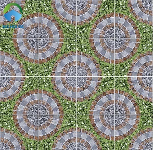 Đây cũng là một gợi ý hay về mẫu map gạch sân vườn đẹp