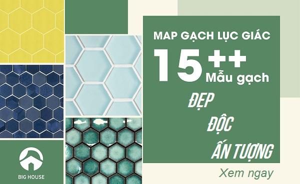 20++ Map gạch lục giác Độc Đáo – Ấn Tượng nhất hiện nay