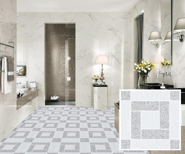 Mẫu gạch lát nền nhà vệ sinh 25x25
