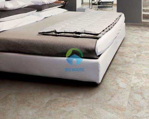 mẫu gạch lát nền phòng ngủ vân đá sang trọng