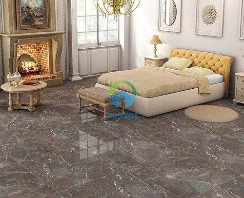 mẫu gạch lát nền phòng ngủ đẹp bóng kiếng cao cấp