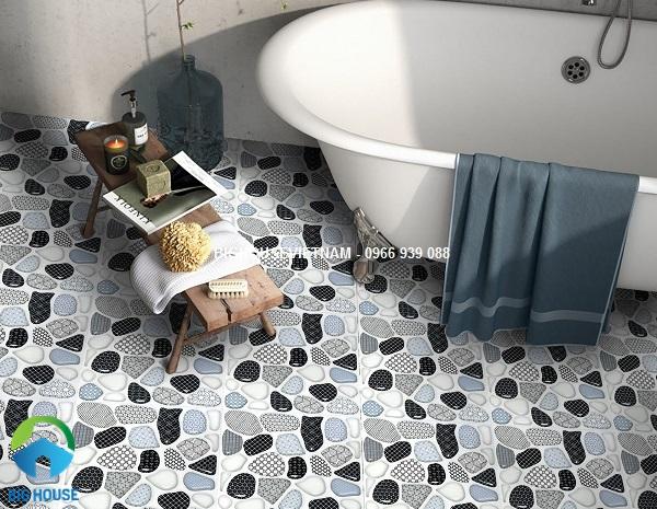 mẫu gạch lát nhà vệ sinh đẹp