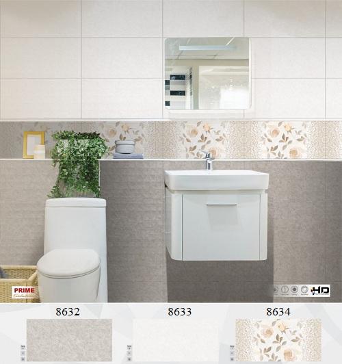 Bộ gạch ốp nhà vệ sinh 30x60 Đẹp mắt