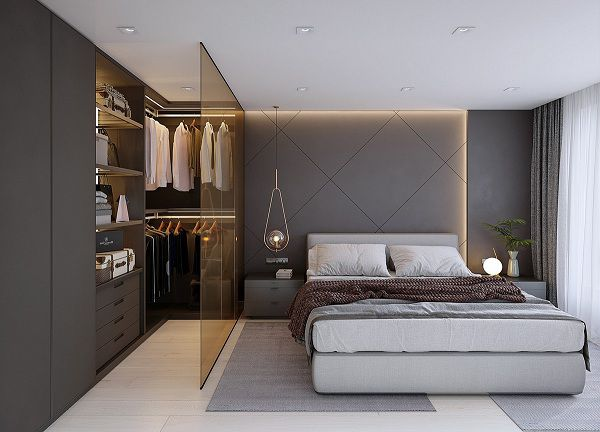 Gạch ốp phòng ngủ kích thước lớn