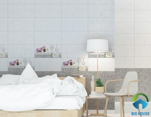 mẫu gạch ốp tường phòng ngủ đpẹ