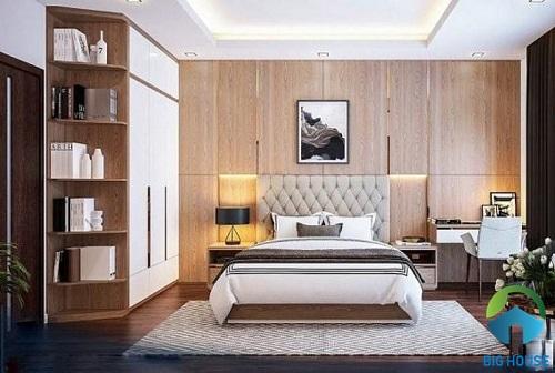 mẫu gạch ốp tường phòng ngủ chất lượng