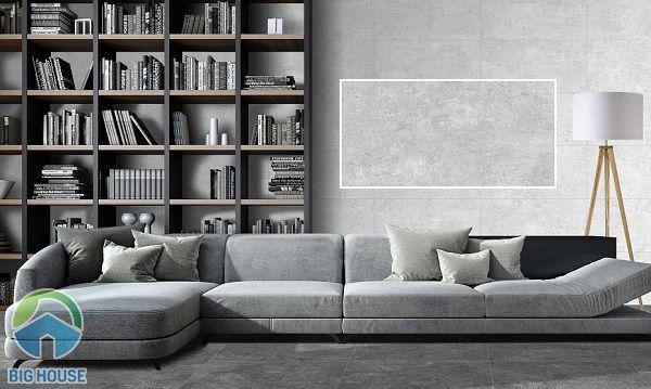 mẫu gạch tường phòng khách 30x60